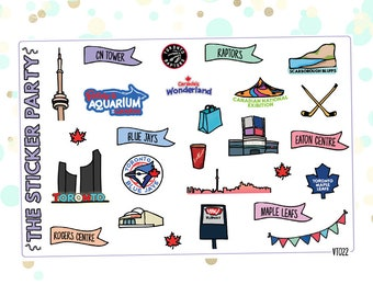 Toronto Planner Stickers