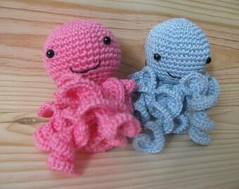 adorable little Octopus make crochet