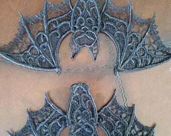 Lace bat,Halloween,Vampire