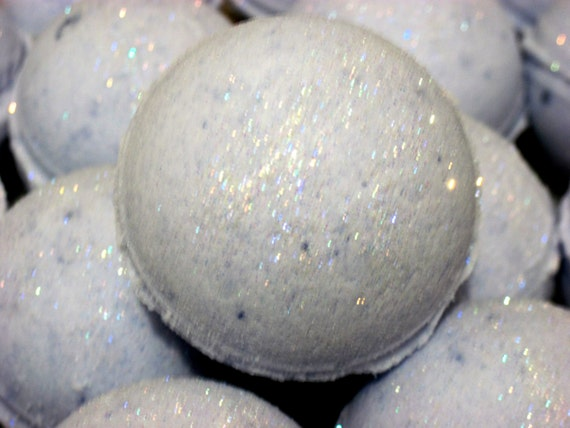 Fairy Dust Bath Bomb Fizzy - Handmade Natural Exfoliation (Gift idea, fun tub time) Individually packaged and labeled, Stardust Soaps