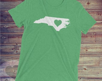 Heart 4 North Carolina Tee - NC