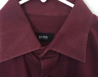 Hugo boss long sleeve dreaa shirt