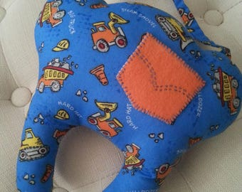 Construction Tooth Fairy Pillow