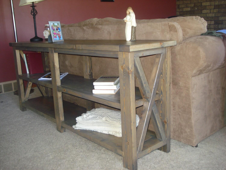 Diy Rustic Sofa Table. 🔎zoom Diy Rustic Sofa Table