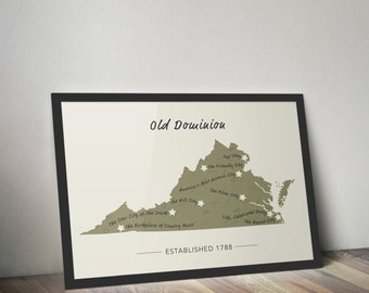 Old Dominion Map
