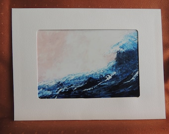 Beach Wave Blank Note Cards