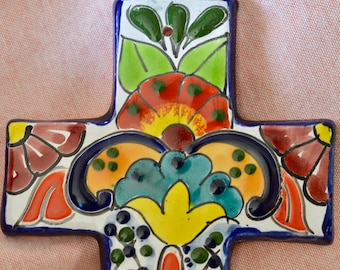 Talavera cross wall