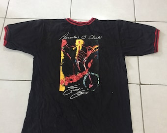 Vintage 90s Planet Hollywood Celebrity Edition Sylvester Stallone Shirt Small