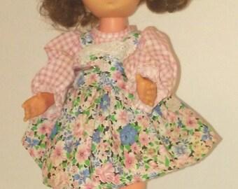 "Hard Plastic 12"" Doll"