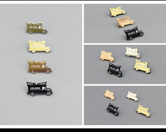8 pieces  Sound Car Lapel Pin