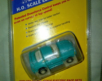 NEW Ho Slot car Ford Mustang new in blister