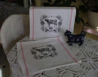 Farmhouse Kitchen Towels - Set of 2