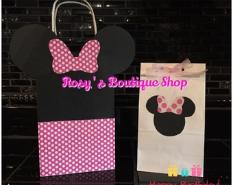 Mouse Party Goddy Bags, Birthday Favor Bags
