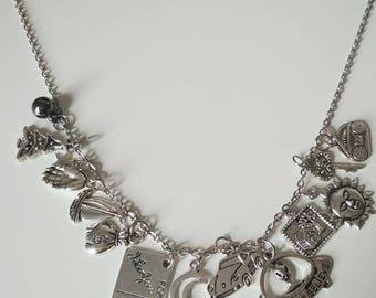 Wishlist charm necklace