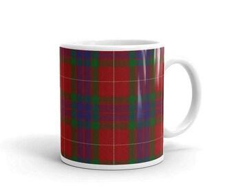 Fraser Scottish Tartan Clan Mug Two sizes! Printed-to-order in the U.S.A.