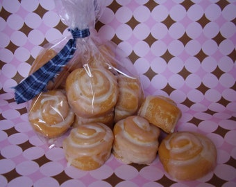 Cinnamon Bun Melts, Soy Bakery Tarts, Candle Warmer Wax, Bun In The Oven, Baby Shower Favors, Fresh Baked, No Wick Candle, Wax Melts