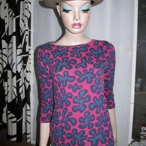 vintage Marimekko print top.Marimekko vintage.