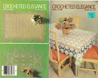 Crocheted Elegance - Coats & Clark Book No. 279