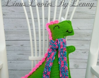 "Ragdoll Dinosaur, Plush Dinosaur, Dinosaur stuffed animal, Crochet Dinosaur approx : 17"" tall, Horn to feet x 15"" wide, Tail to Arm"
