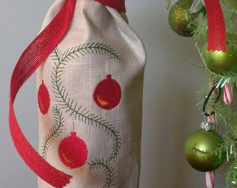 Holiday Wine Bottle Covers
