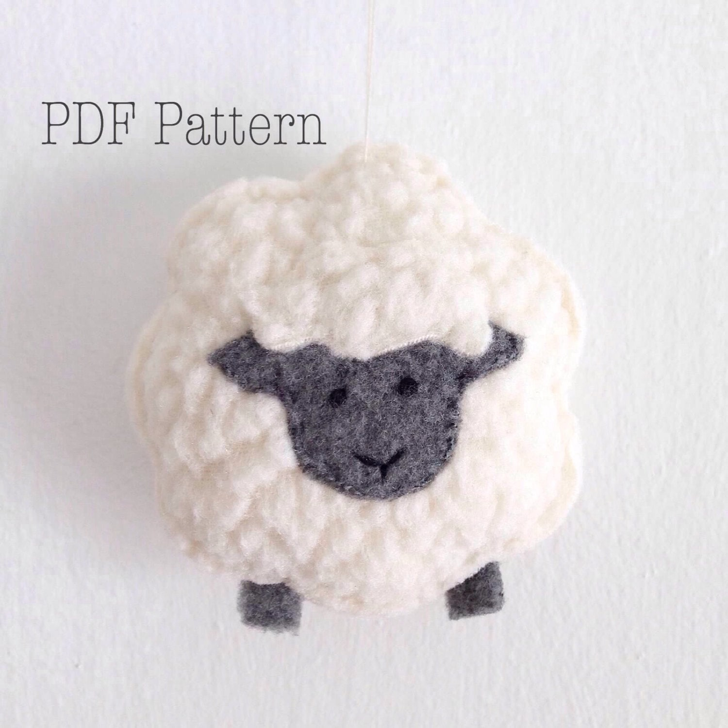 Little sheep christmas ornament pattern sheep plush pattern zoom negle Images