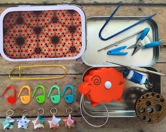 Knitter's Tool Tins