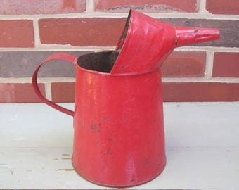 Red CHIPPY Oil Can