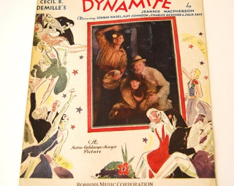 Sheet Music, How Am I To Know? Featured in Dynamite