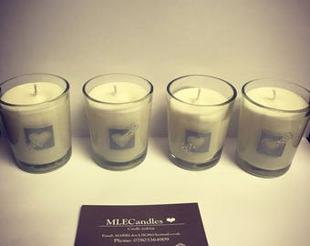 Handmade scented Votives