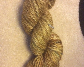 Olive Oyl- Hand Dyed 100% Baby Alpace Chunky Weight Yarn