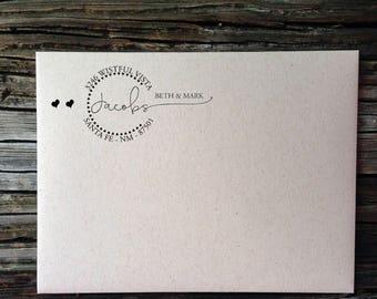 Return Address Label, Address Labels, Calligraphy Circle Return Address Labels, Wedding Invitation Label, Custom Return Address Label