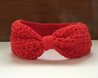 Ear Warmers Turban Crochet Ear Muffs