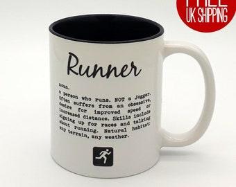 Runner definition - Two tone mug