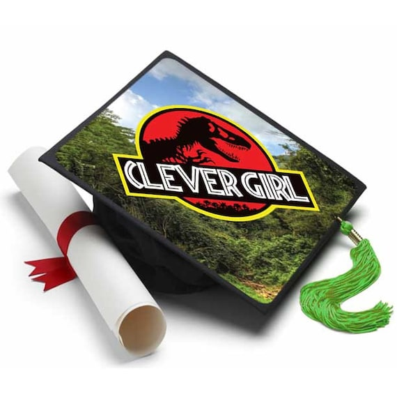 Graduation Cap Clever Girl: Clever Girl Decorated Grad Cap Decorating Kit Ideas For