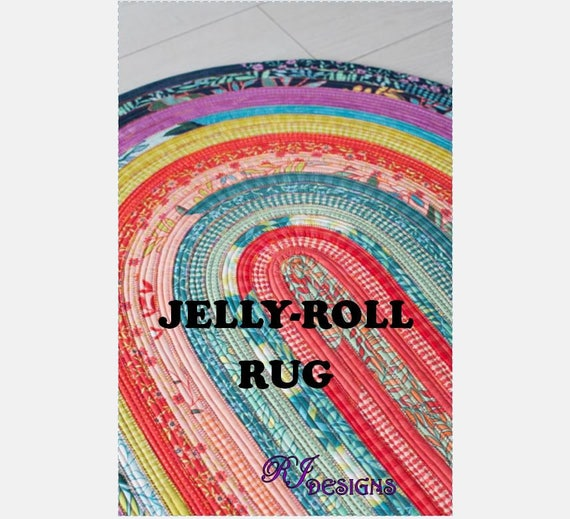 Jelly-Roll Rug Pattern PDF