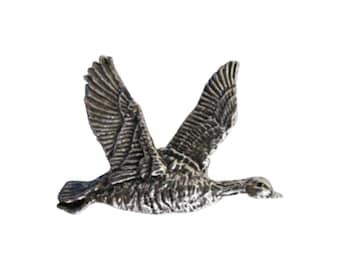 Snow Goose  ~ Lapel Pin/Brooch ~ B002B,BC002B,BP002B