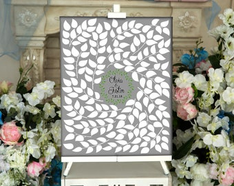 CANVAS Wedding Guest Book Wrapped Canvas Guest book Alternative Wedding Guestbook Wedding Tree Wedding Guest Book Canvas Print or Canvas