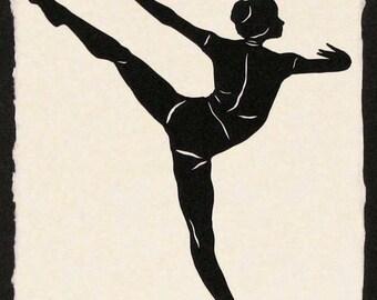 SYLVIE GUILLEM, No.1 Papercut - Hand-Cut Silhouette