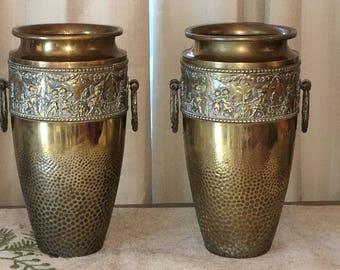 Beldray Brass Vases
