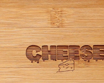 Engraved Cheese Board Large | Gifts for Her | Gifts for Him | Wedding Gift | Anniversary Gift | Serving Platter | Bread Board | Cheese Plate