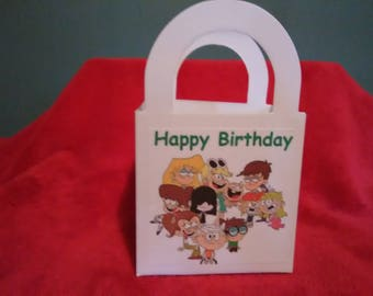 The Loud House set of 12 Personalized Birthday Party goody / favor bags