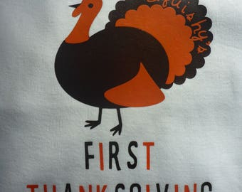 Personalized First Thanksgiving