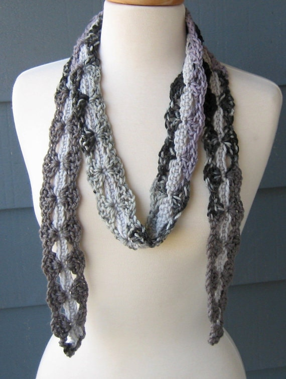 Beautiful Skinny Scarf Crochet Pattern Pictures - Easy Scarf ...
