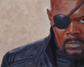 Samuel L Jackson as Nick Fury