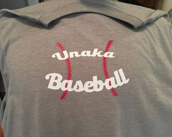 School baseball shirt