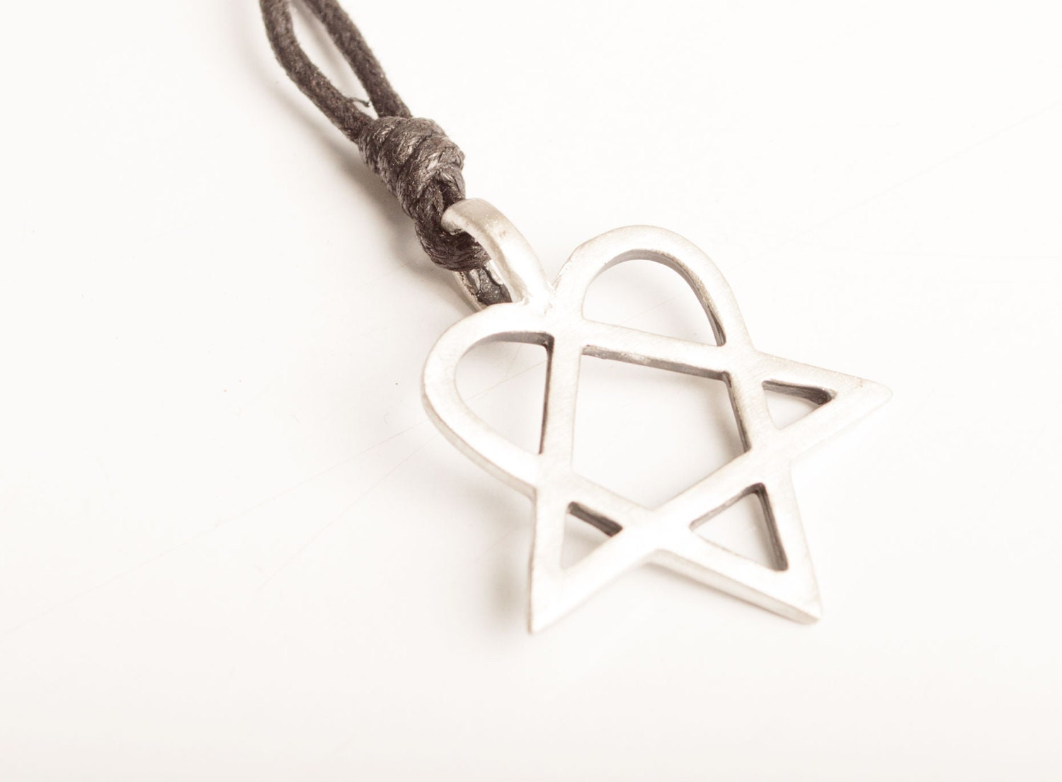 New him heartagram pentagram necklace and pendant jewelry zoom aloadofball Image collections
