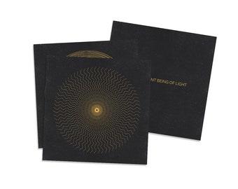 Affirmation Card Set // Sacred Geometry // Minimalist Art // Digital Art // Geometric Art // Mantra Intention Cards // yogi gift / PRE-ORDER
