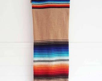 Dark YOLANDE Beige / natural stripes / scarf / infinity / eternity