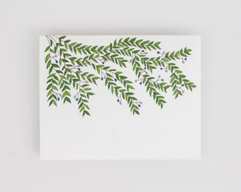 Blank Card - Vines - Greeting Card