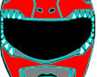 Red Ranger SVG files for cutting machine, Instant download, 1 zip file